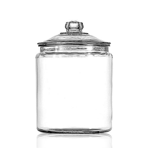 Pot Met Deksel.Glazen Potten Met Deksel Heritage 4 Liter Damiware