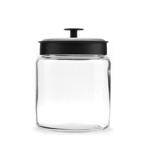 glazen voorraadpot stapelbaar met alumium deksel 1 5 liter. Black Bedroom Furniture Sets. Home Design Ideas