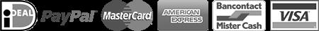 Betaalmogelijkheden webshop Damiware