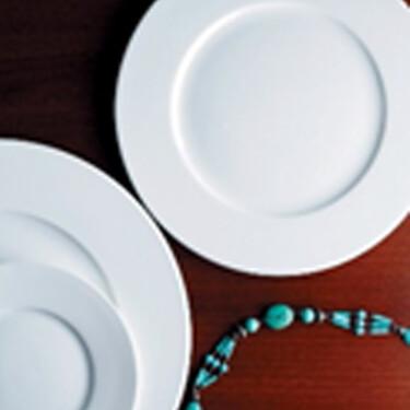 dessertbord 18 cm van fine bone china porselein