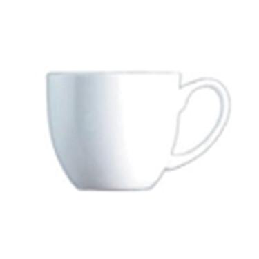 cappuccino kop en schotel van porselein