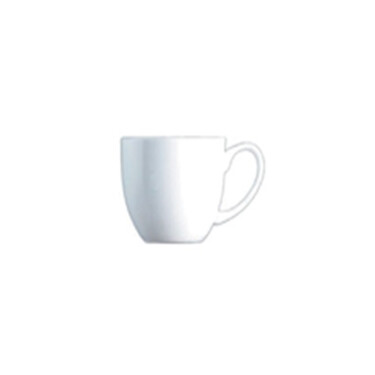 espresso kop en schotel van porselein