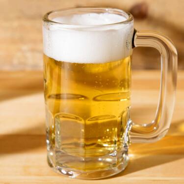 Kleine bierpul 300 ml van horecakwaliteit glas