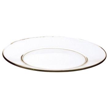 onderbord 33 cm glas