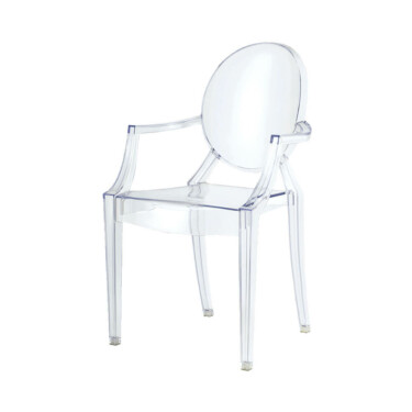 Spirit eetkamerstoelen transparant 4 delig ghost chair