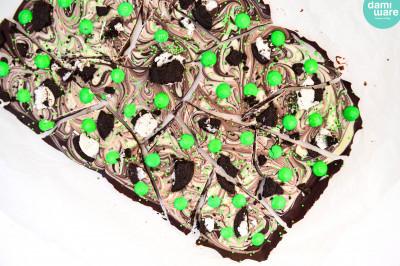 St Patrick's Day Chocolade Bark