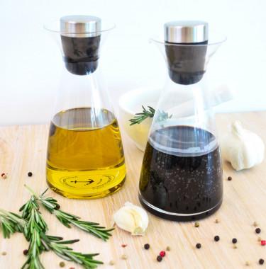 Olie en Azijn flessen set