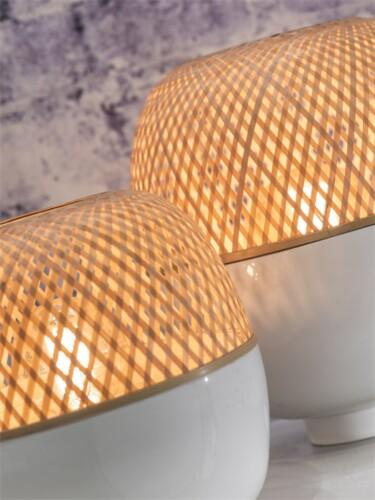 good mojo tafellamp mekong bamboe zijkant combinatie damiware
